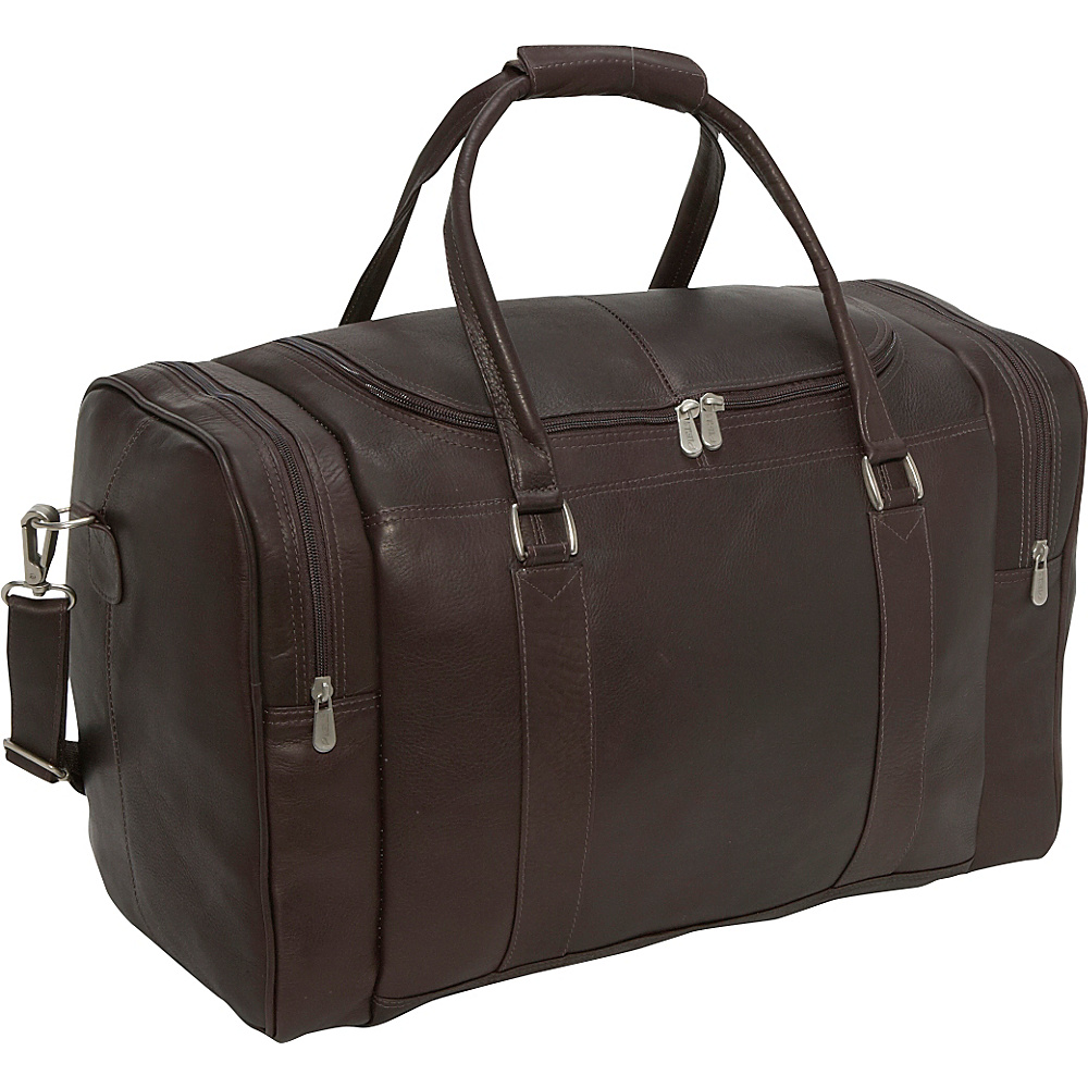 Piel Classic Weekend Carry-On - Chocolate - Luggage, Luggage Totes and Satchels