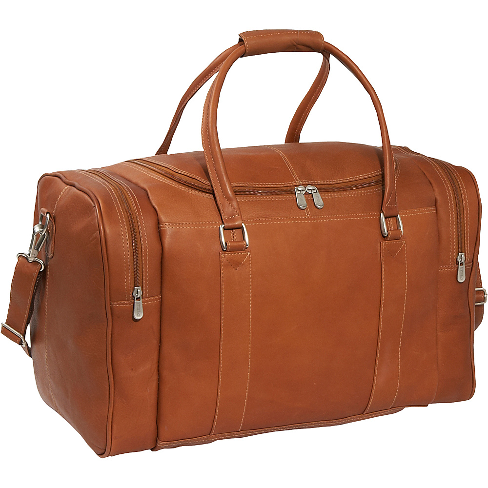 Piel Classic Weekend Carry-On - Saddle - Luggage, Luggage Totes and Satchels