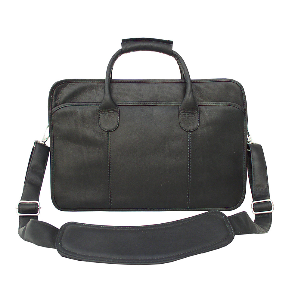 Piel Simple  Portfolio - Black - Work Bags & Briefcases, Non-Wheeled Business Cases