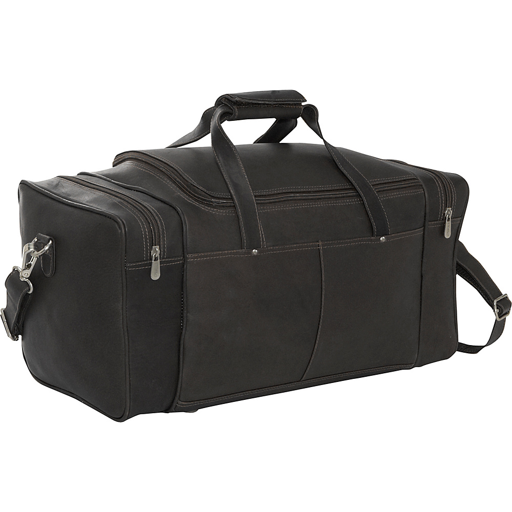 Piel Small 17 Duffel Bag - Black - Luggage, Rolling Duffels