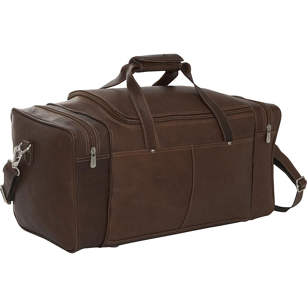 Piel Small 17 Duffel Bag - Chocolate - Luggage, Rolling Duffels