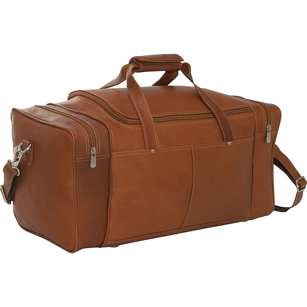 Piel Small 17 Duffel Bag - Saddle - Luggage, Rolling Duffels