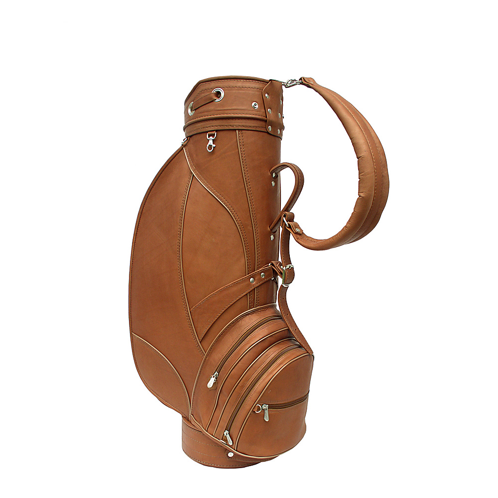 Piel Deluxe 9 Leather Golf Bag Saddle - Piel Golf Bags - Sports, Golf Bags