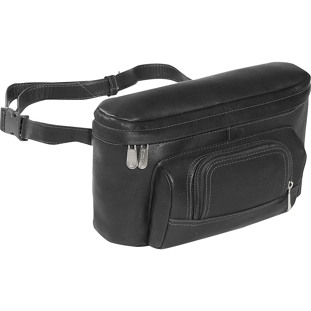 Piel Carry-All Waist Bag - Black - Backpacks, Waist Packs