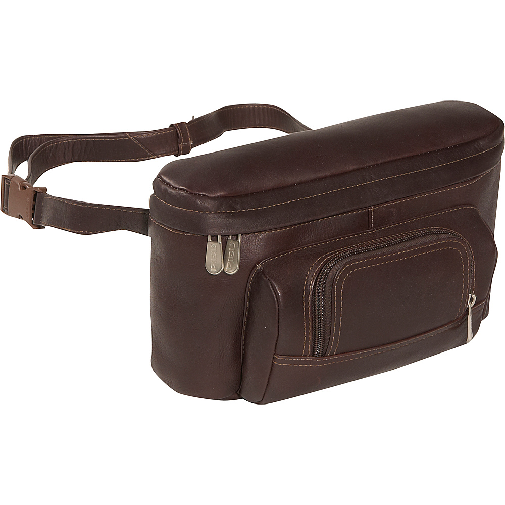 Piel Carry-All Waist Bag - Chocolate - Backpacks, Waist Packs