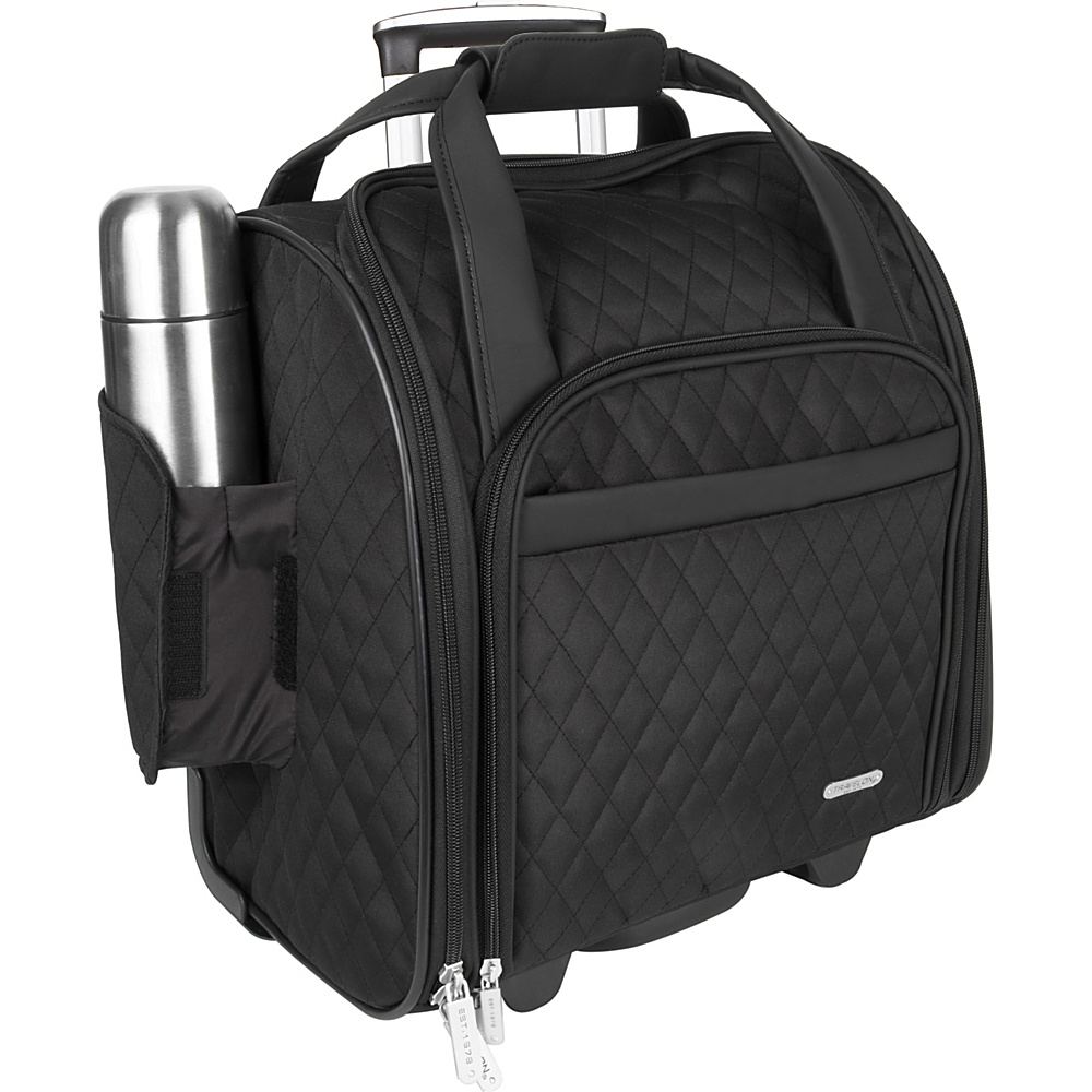 travelon wheeled underseat carry on bag 14 7 colors. Black Bedroom Furniture Sets. Home Design Ideas