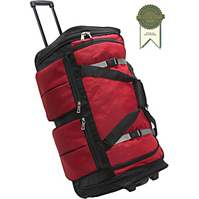 15-Pocket 29'' Wheeling Duffel Red