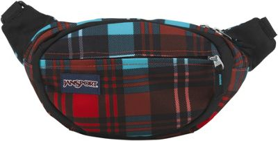 JanSport Fifth Avenue High Risk Red Preston Plaid - JanSport Waist Packs & Fanny Packs