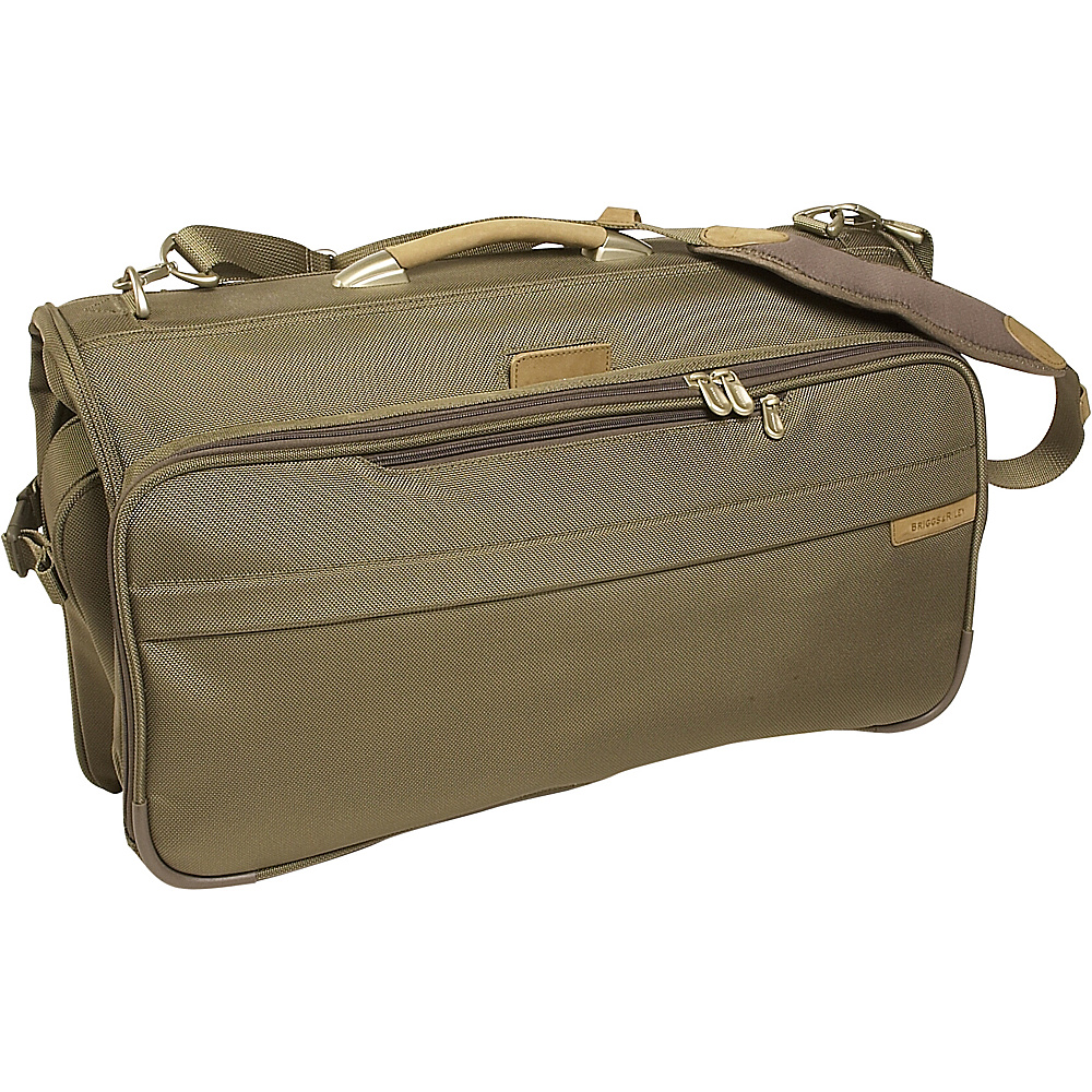 Briggs & Riley Baseline Compact Garment Bag - Olive - Luggage, Garment Bags