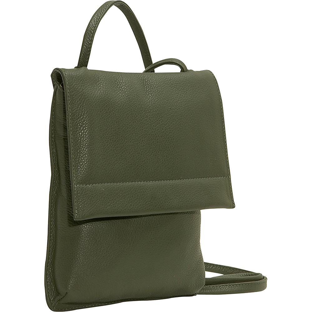 J. P. Ourse Cie. Yellowstone Flat Compact Olive