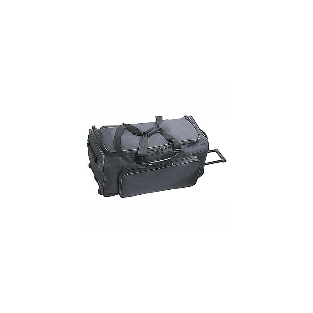 Netpack Big P 30 Wheeled Duffel - Black - Luggage, Rolling Duffels