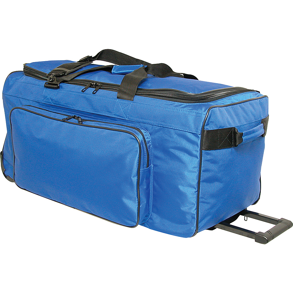 Netpack Big P 30 Wheeled Duffel - Blue - Luggage, Rolling Duffels