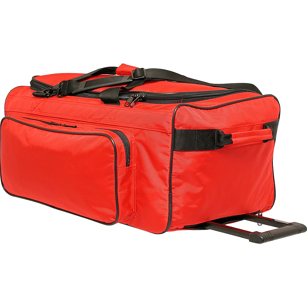Netpack Big P 30 Wheeled Duffel - Red - Luggage, Rolling Duffels