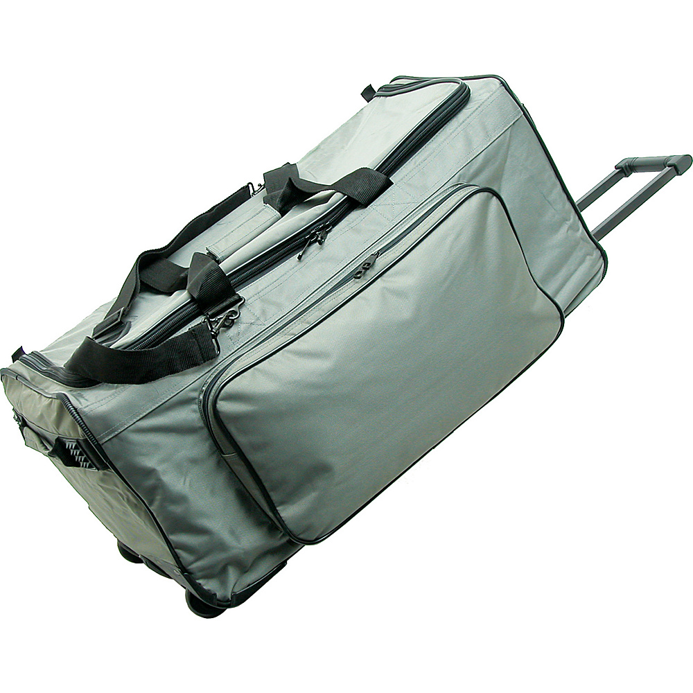 Netpack Big P 30 Wheeled Duffel - Grey - Luggage, Rolling Duffels