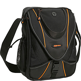 "Mini Messenger Gadget Bag - 9''-13.3""  Black/Orange"