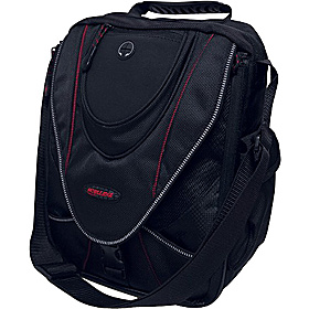 "Mini Messenger Gadget Bag - 9''-13.3""  Black/Red"