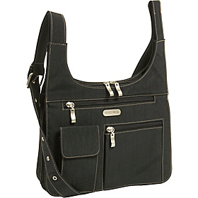 City Bagg Crinkle Nylon Black/Khaki