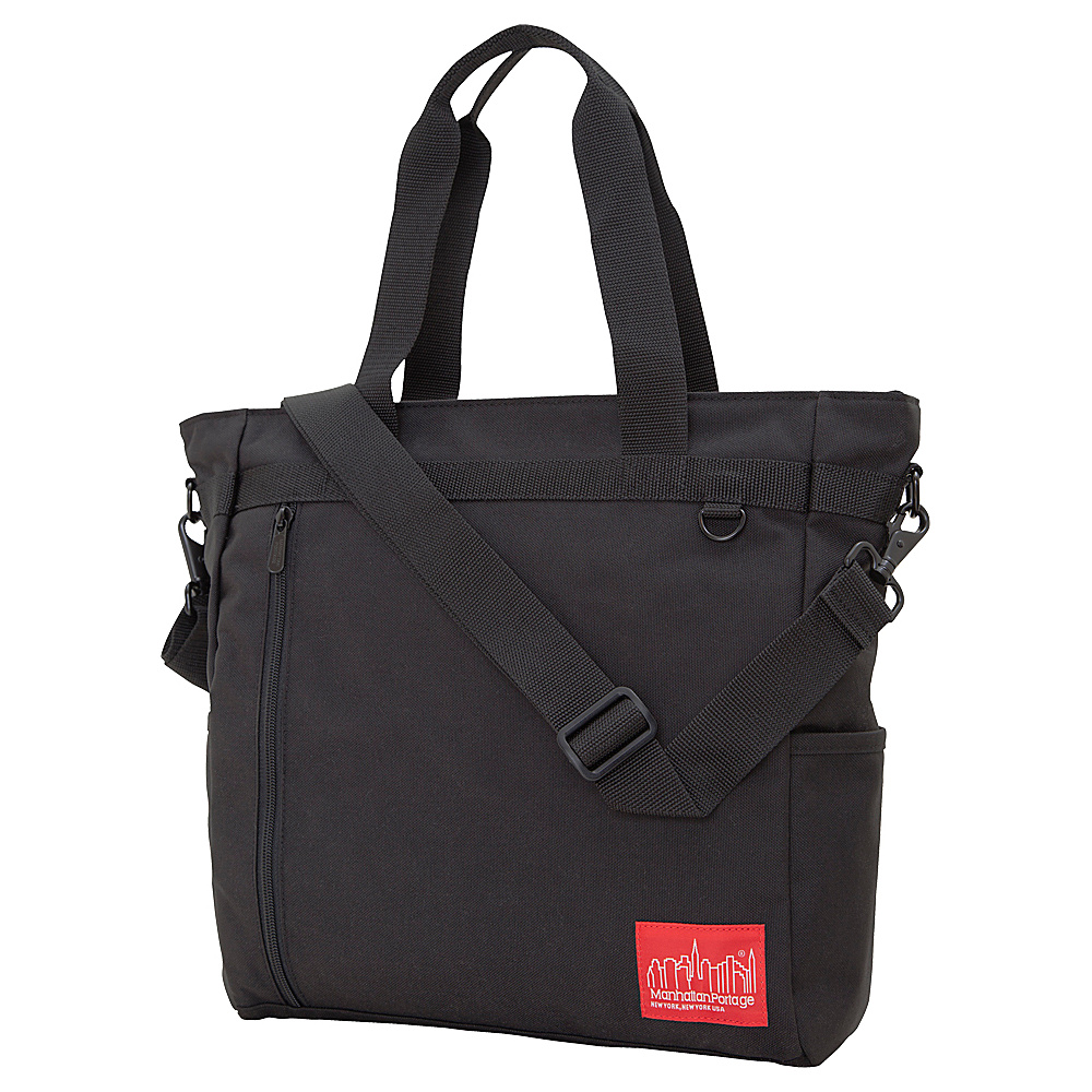 Manhattan Portage Messenger Bag Tote Black - Manhattan Portage Fabric Handbags - Handbags, Fabric Handbags