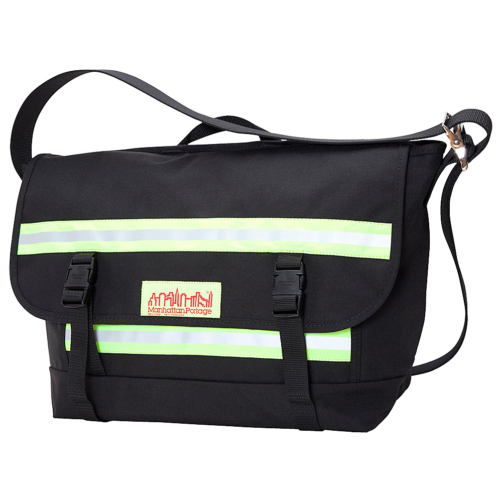 Manhattan Portage Reflective Bike Messenger Bag- Medium