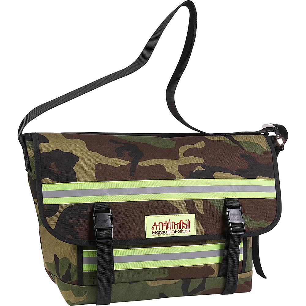 Manhattan Portage Reflective Bike Messenger Bag- Medium Camo - Manhattan Portage Messenger Bags - Work Bags & Briefcases, Messenger Bags