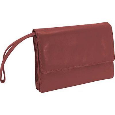 Derek Alexander Deluxe Clutch With Shoulder and Wrist
