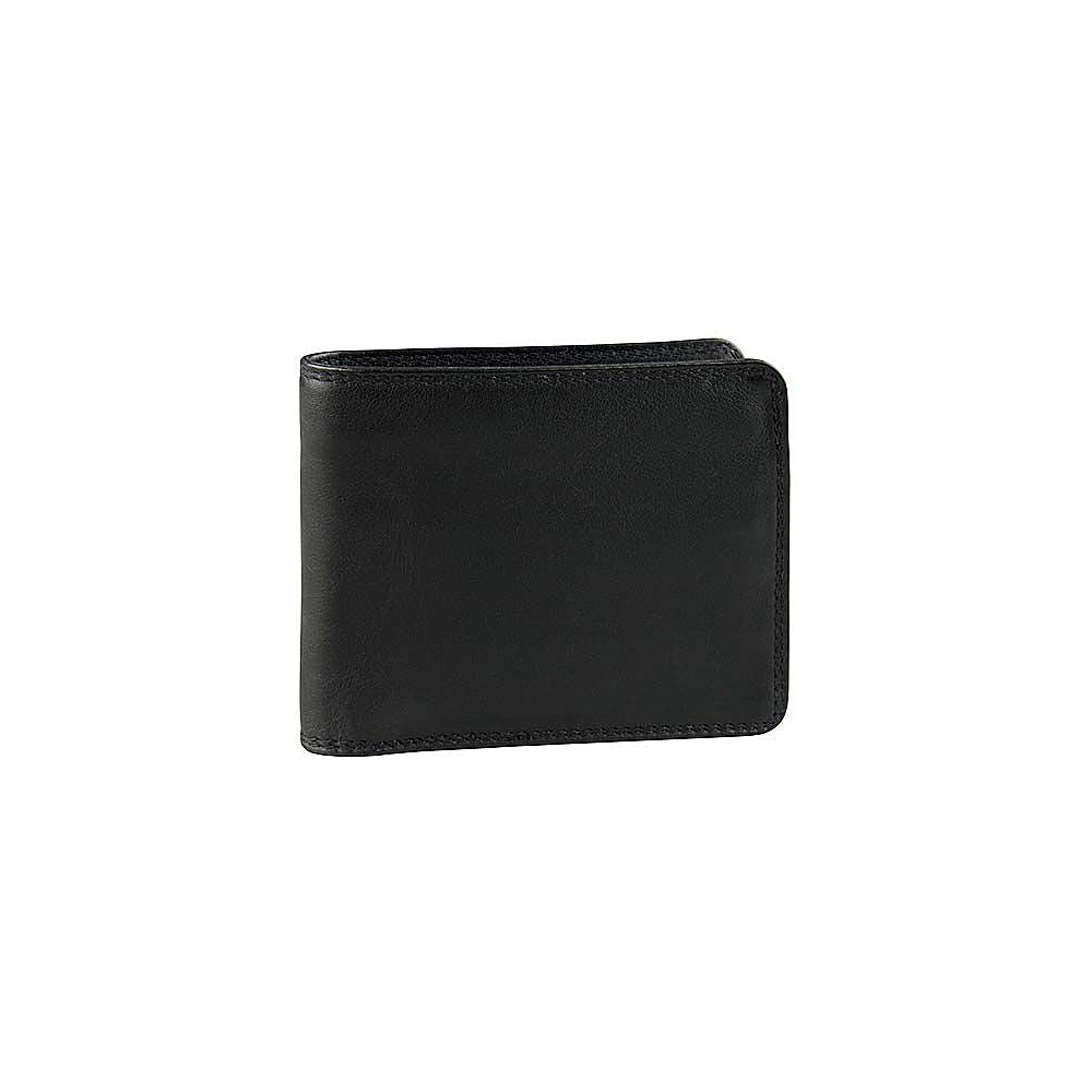 Derek Alexander Credit Card Wallet - Black - Work Bags & Briefcases, Men's Wallets