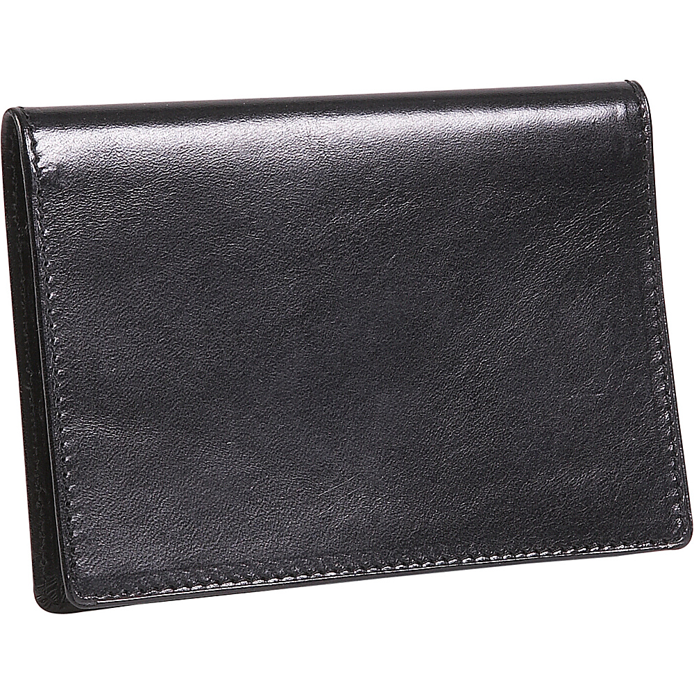 Derek Alexander Passport Wallet - Black - Travel Accessories, Travel Wallets
