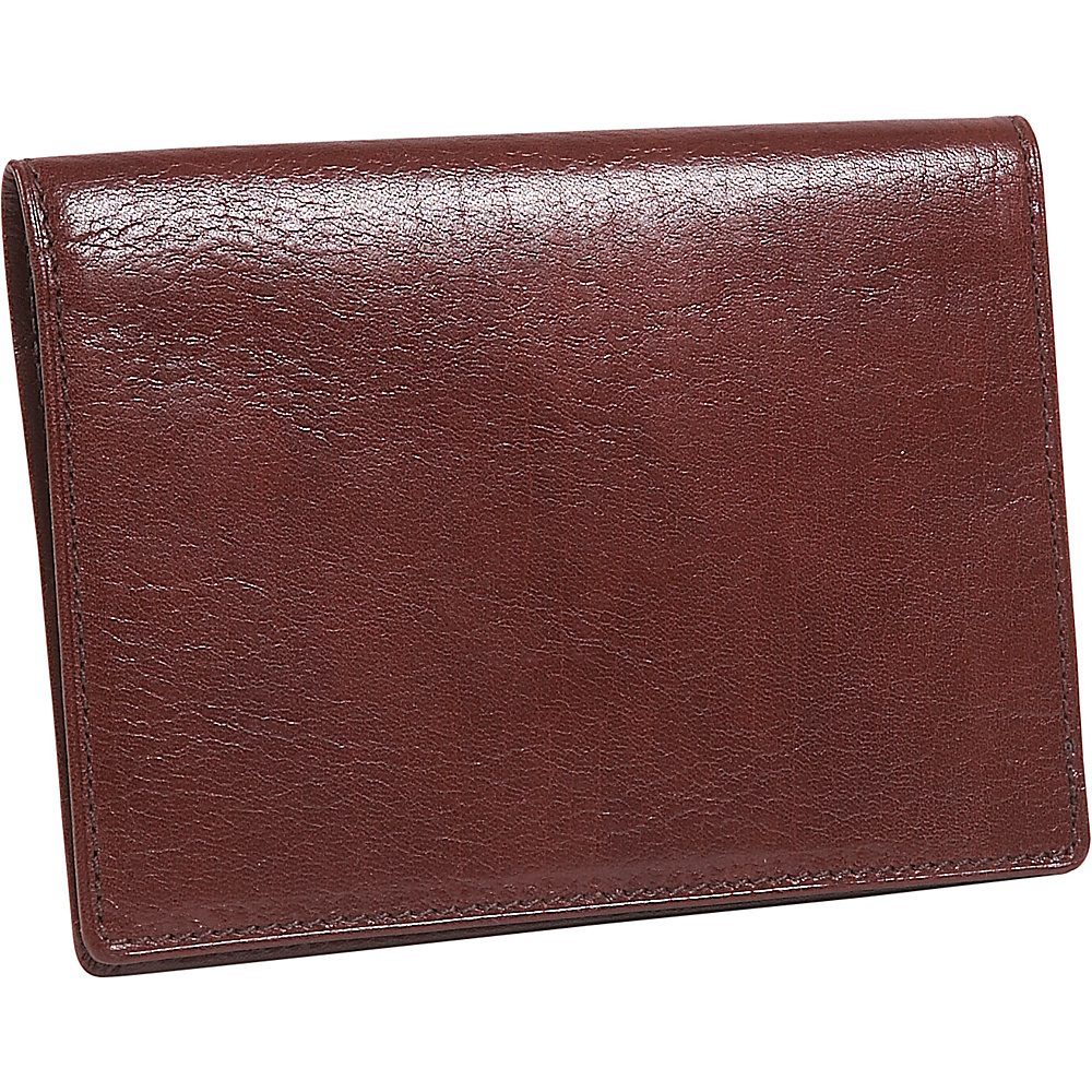 Derek Alexander Passport Wallet - Brown - Travel Accessories, Travel Wallets