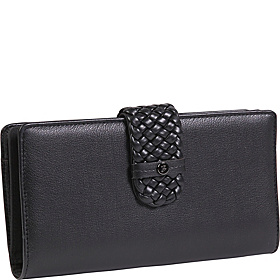 Hailey-Super Wallet Black