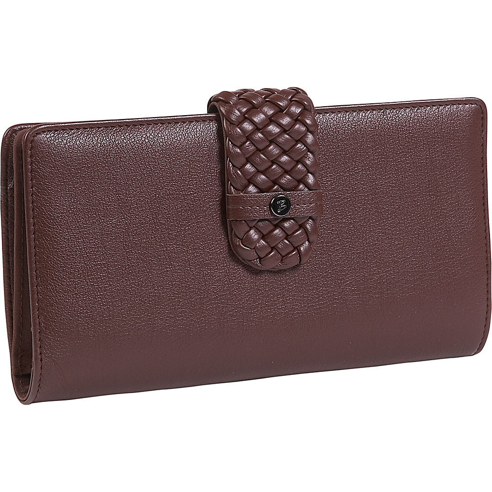 Buxton Hailey-Super Wallet Brown - Buxton Womens Wallets - Women's SLG, Women's Wallets