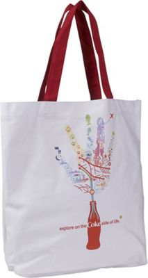 Ashley M Coke Hand Canvas Tote - Perfect Gift For Coca Cola Lover