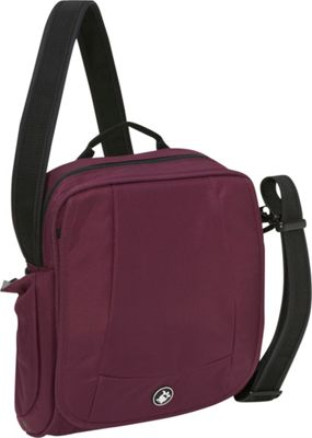 Pacsafe MetroSafe 200 Shoulder Bag - Grape Wine