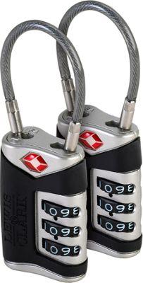 Lewis N. Clark TSA Sentry Cable Lock - 2 Pack - As