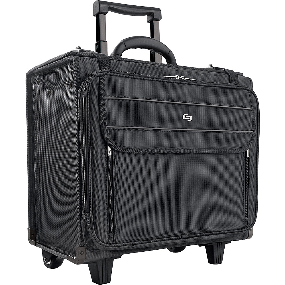 SOLO Rolling Laptop Catalog Case - Black - Work Bags & Briefcases, Wheeled Business Cases