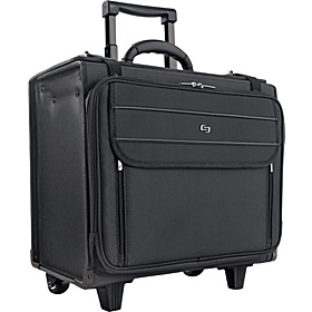 Rolling Laptop 17'' Catalog Case Black