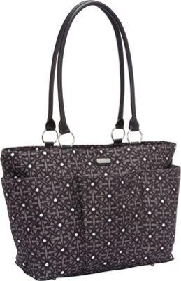 baggallini A La Carte Tote-Medium Safari Pewter - baggallini Fabric Handbags