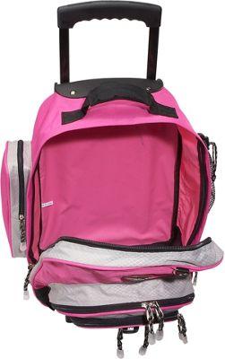 "CalPak Awestruck 18"" Rolling Backpack 4 Colors Wheeled Backpack NEW"