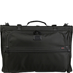 Alpha Tri-Fold Carry-On Garment Bag Black