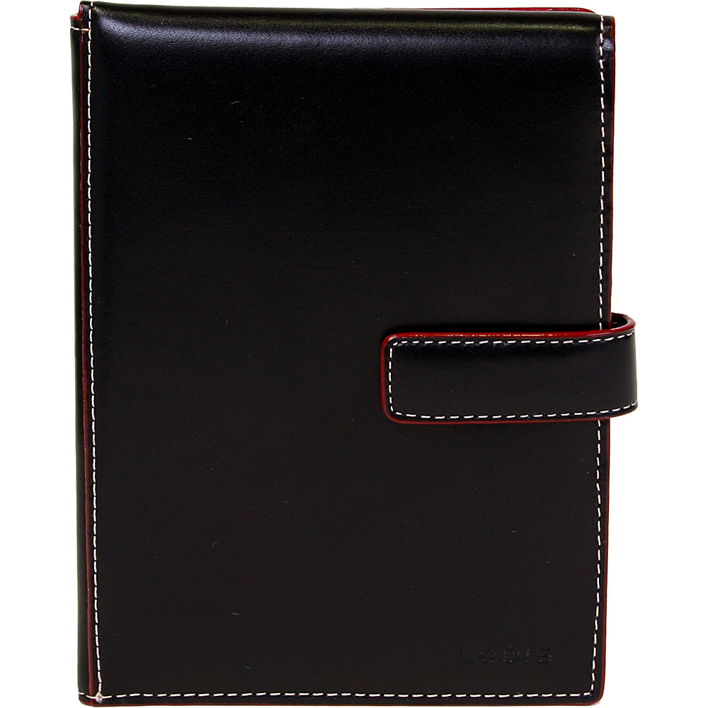 Lodis Audrey Passport Wallet with Ticket Flap - Black - Travel Accessories, Travel Wallets