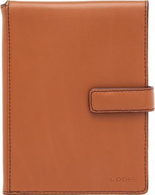Lodis Audrey Passport Wallet with Ticket Flap Toffee - Lodis Travel Wallets