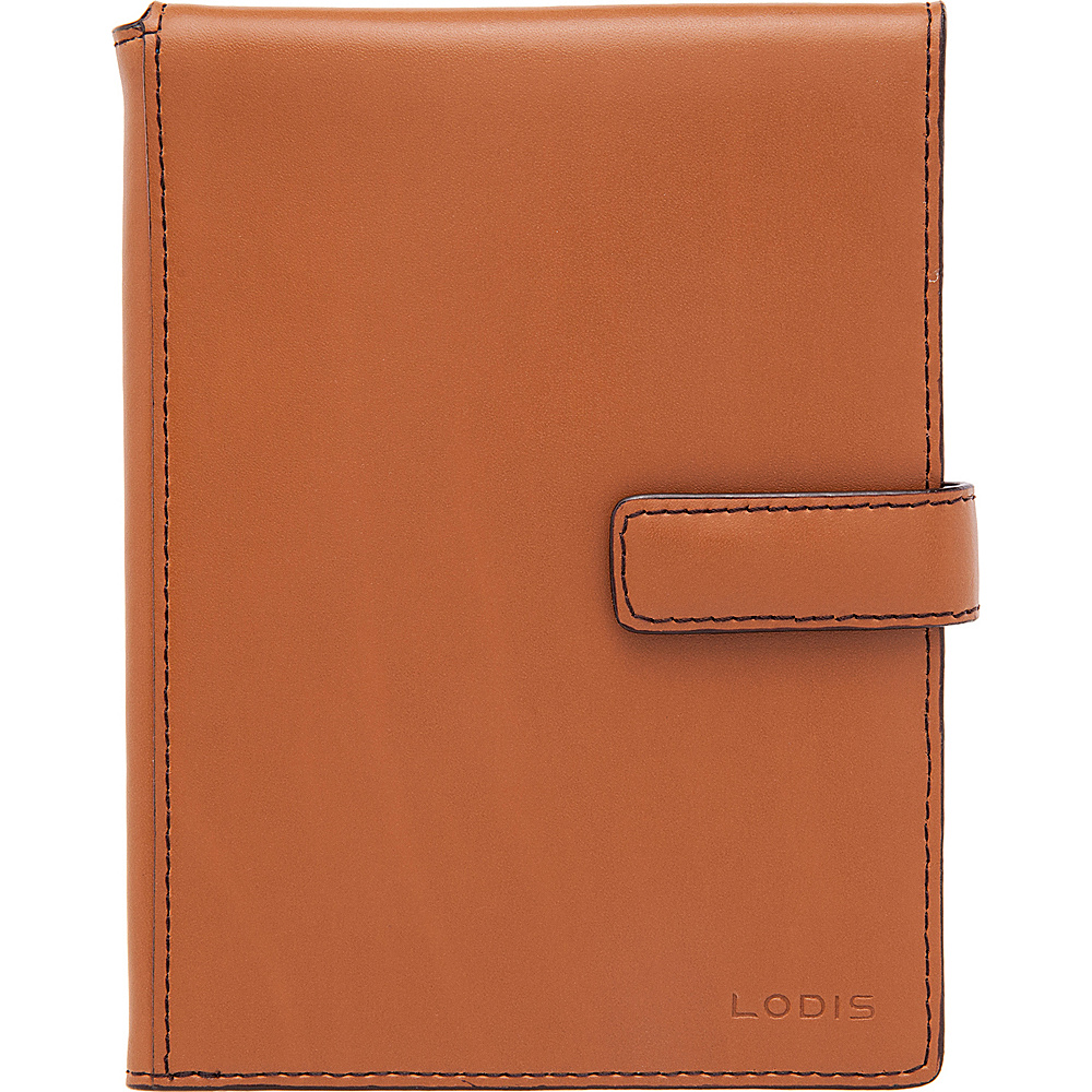 Lodis Audrey Passport Wallet with Ticket Flap - Discontinued Colors Toffee - Lodis Travel Wallets - Travel Accessories, Travel Wallets