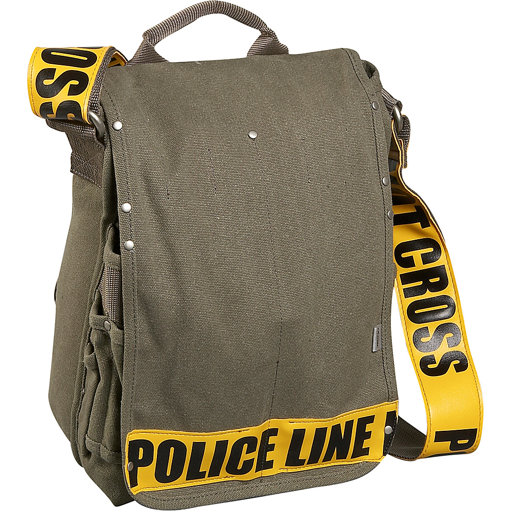 Ducti Utility Messenger Bag - Yellow