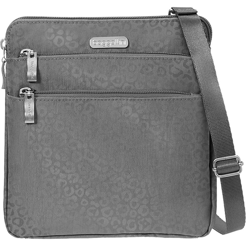Baggallini Zipper Crossbody Travel Bag Baggallini Big Zipper Travel Crossbody Bag Black One Size