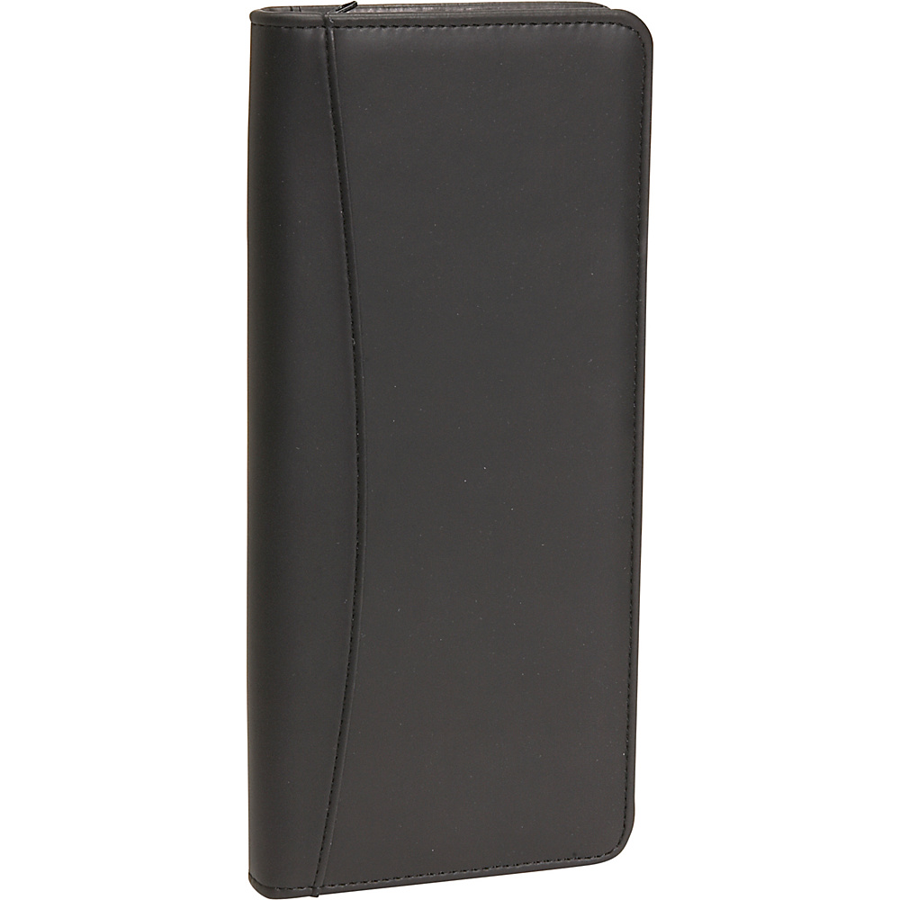 Royce Leather Expanded Document Case - Black - Travel Accessories, Travel Wallets