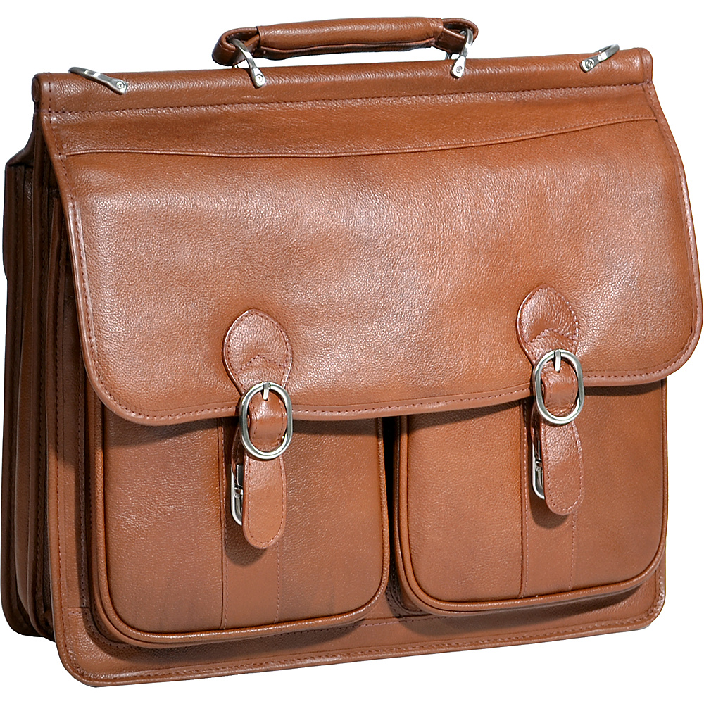 McKlein USA Hazel Crest Leather 15.4 Laptop Case - Work Bags & Briefcases, Non-Wheeled Business Cases