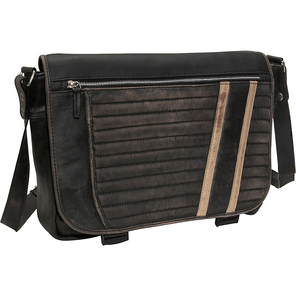Scully Messenger Brief - Black - Work Bags & Briefcases, Messenger Bags