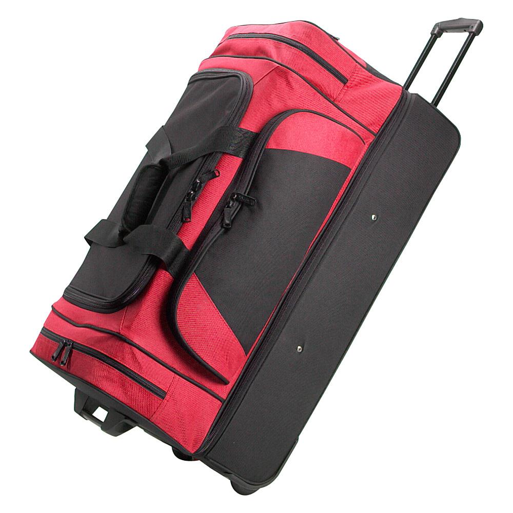 Netpack Rocky Wheeled Duffel II - Red - Luggage, Rolling Duffels