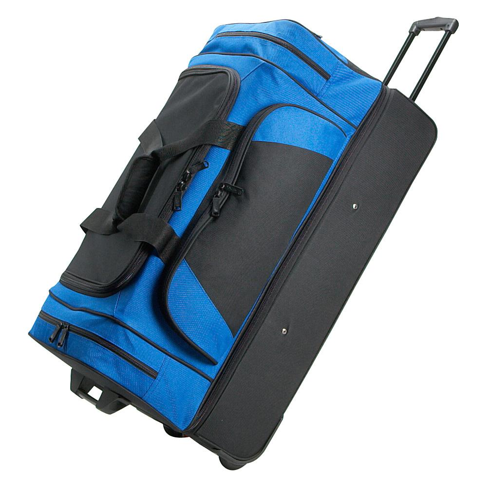 Netpack Rocky Wheeled Duffel II - Blue - Luggage, Rolling Duffels