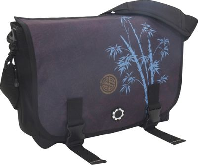 DadGear Messenger Bag Graphics - Blue Bamboo