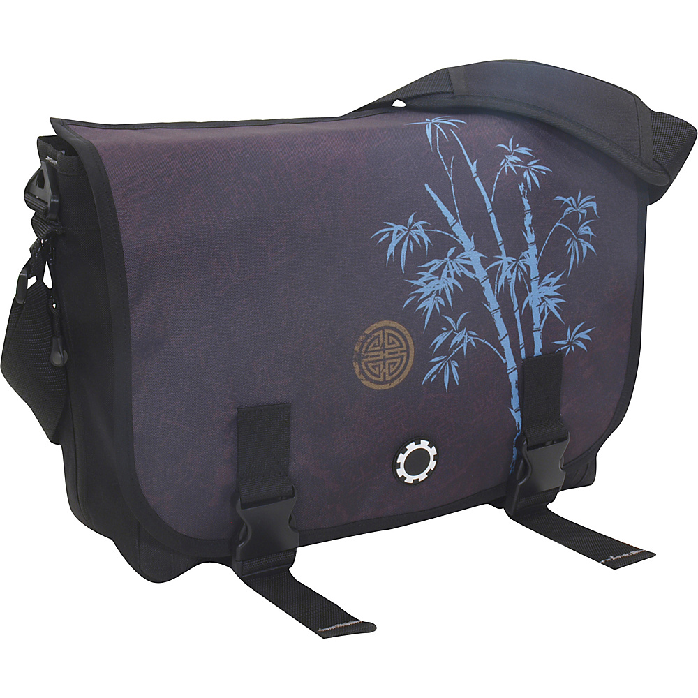 DadGear Messenger Bag Graphics - Blue Bamboo - Handbags, Diaper Bags & Accessories